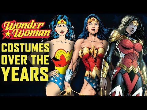 Wonder Woman Costumes Over The Years