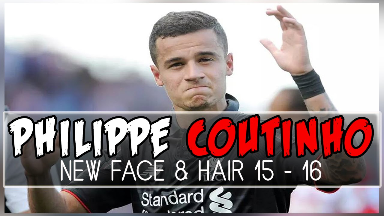 PES New Face Hair PHILIPPE COUTINHO YouTube - Coutinho hairstyle 2015