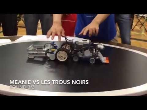 Lego EV3 Robot Sumo Wrestling BattleBots Challenge ...