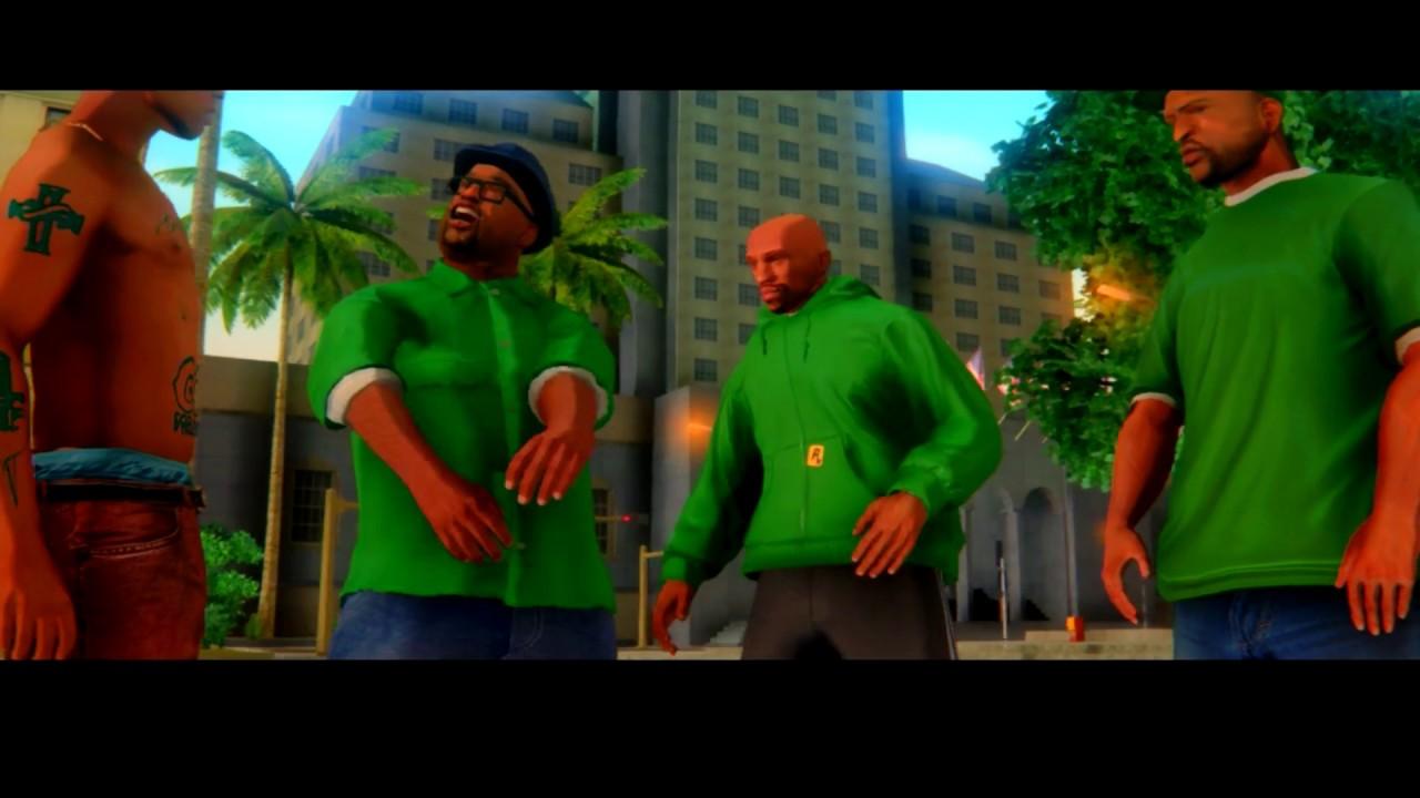 GTA San Andreas || HD Remastered Characters