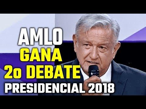 AMLO gana segundo debate presidencial 2018