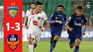 Hero ISL 2018-19 | Chennaiyin FC 1-3 FC Goa | Highlights