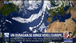 L'ouragan Ophélia expliqué en 1 minute chrono