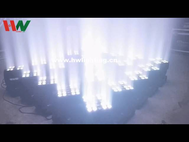 5x5 matrix LED moving head light