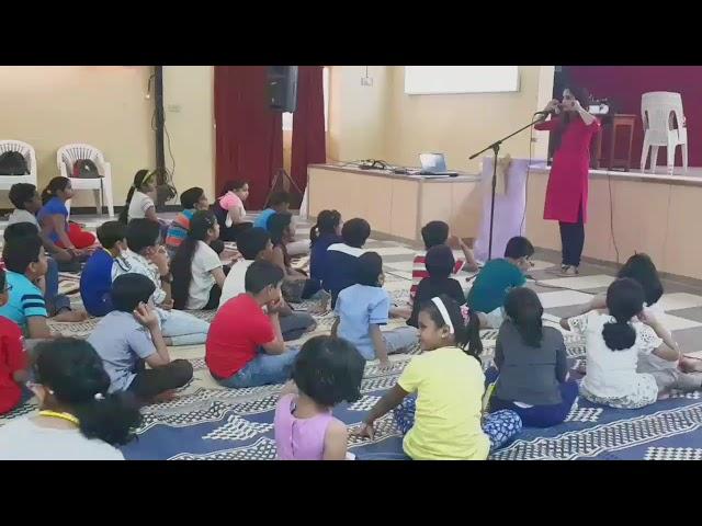 Health awareness and Digital detox in children /Summer camp presentation