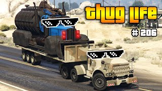 GTA 5 THUG LIFE AND FUNNY MOMENTS (Wins, Stunts and Fails #206)