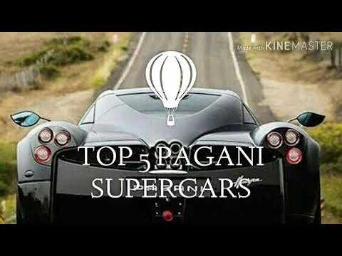 TOP 5 PAGANI SUPERCARS // By Automotive wheel globe