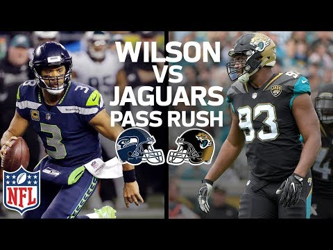 Russell Wilson's Escapability vs. Jacksonville's Pass Rush: Who has the Advantage? | NFL