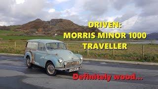Driven: Morris Minor 1000 Traveller - Definitely Wood!
