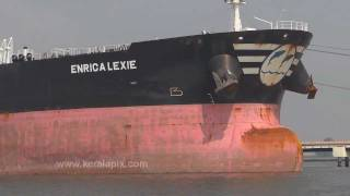 Oil Tanker Enrica Lexie berthed at Cochin Port