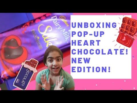 VALENTINE'S DAY |#DairyMilkSilkPopUpHeart | #CadburyDairyMilk | #VALENTINEDAY| #LOVE | #madbury