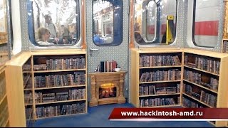 Библиотека в метро. Санкт-Петербургский международный книжный салон 2016
