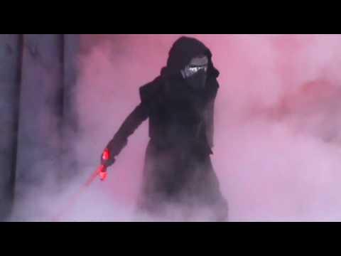 Tomorrowland; Star Wars Launch Bay & Jedi Training Show (Disneyland January 2018)
