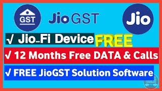 ... reliance jio infocomm (jio) has launched a low cost gst compliance software package for small traders and...