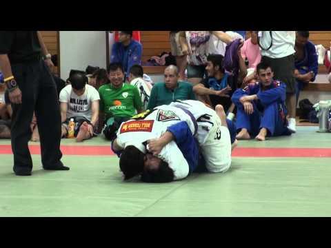 迎智行 vs Giedre Santana / Jiu Jitsu Priest CUP 2014 GIFU