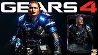 """Gears of War 4 - """"Female UIR Elite Vanguard"""" Character Multiplayer Gameplay! (UIR Vanguard DLC)"""
