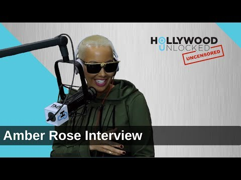 "Amber Rose Talks Nude IG Photo  & ""I Am Not A Role Model"" on Hollywood Unlocked [UNCENSORED] PART 1"