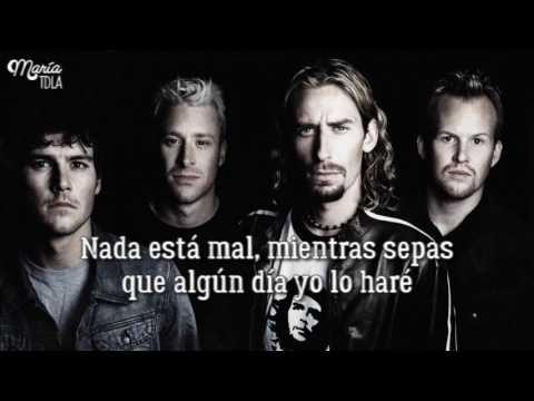 Nickelback - Someday :: Sub Español