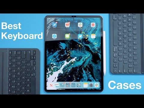 Best Keyboard Cases For 2018 IPad Pro!
