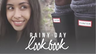 LOOKBOOK: Rainy Day Outfits (How I Style Hunter Boots)
