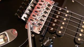 Installing a Roland GK Kit and an Original Floyd Rose on a USA Fender Strat