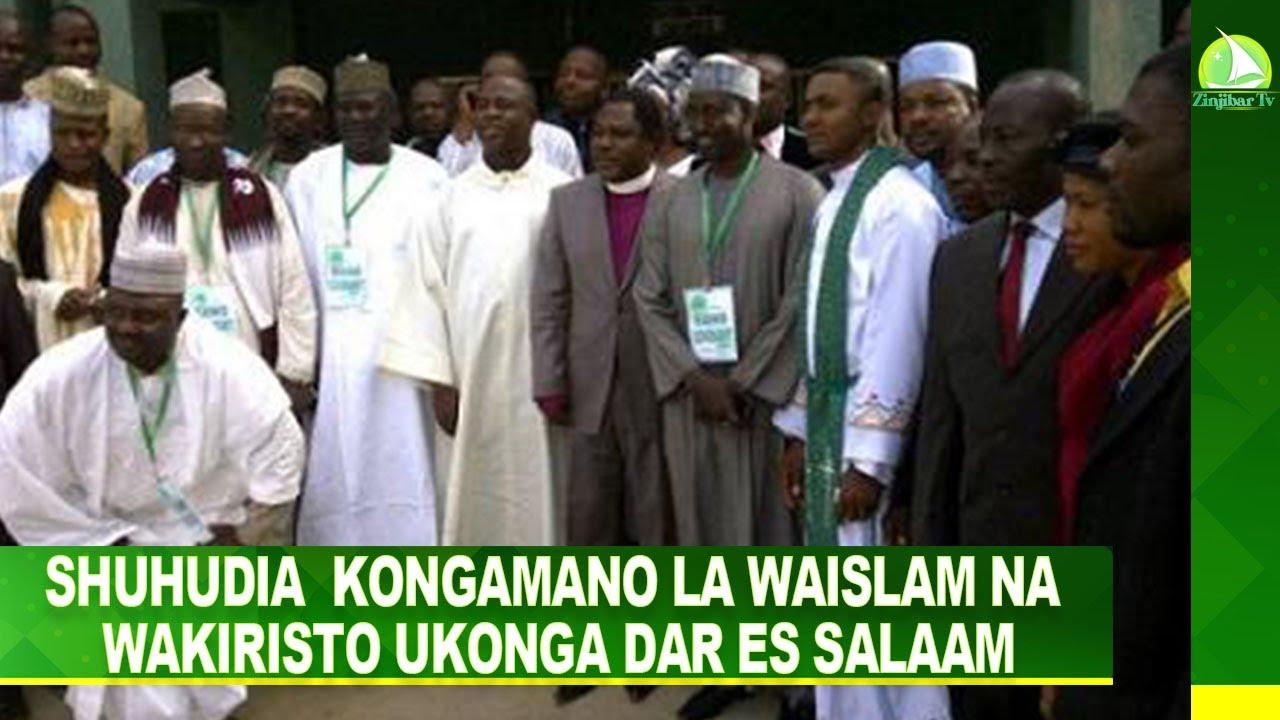 Download #LIVE: SHUHUDIA  KONGAMANO LA WAISLAM NA WAKIRISTO UKONGA DAR ES SALAAM