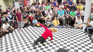 Mainhatten Cypher 2011 BGirl battle Jilou vs Soe