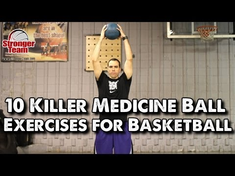 10 Killer Medicine Ball Exercises For Basketball