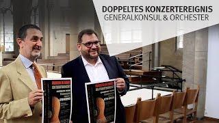 Doppeltes Konzertereignis: Erst spielt der Generalkonsul, dann das Orchester (am 23.09.2019 um 14:28)