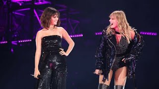 Taylor Swift & Selena Gomez Together on Stage | Live Performance