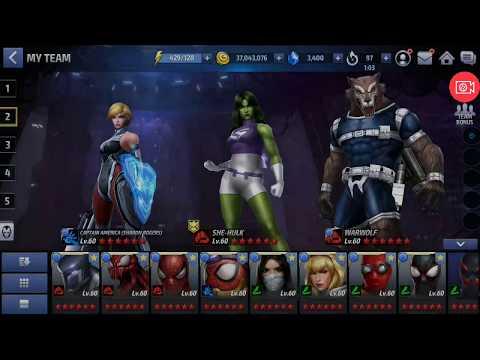 World Boss Quicksilver in 15 seconds less vs Sharon Rogers Marvel Future Fight