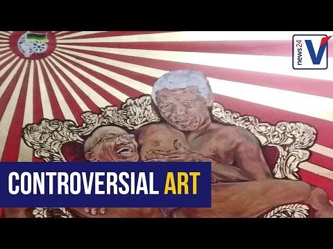 WATCH: Ayanda Mabulu's artwork stirs up South Africa