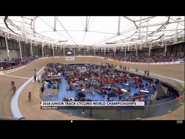 Mondiali Madison: una sfortunata caduta costringe Guazzini-Scarsi al 4° posto