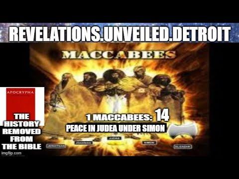 1st MACCABEES: 14.  PEACE Under BRO. SIMON.