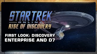Star Trek Online: The Enterprise and D7 by ZEFilms