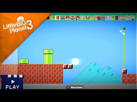Someone created Super Mario Maker inside LittleBigPlanet 3