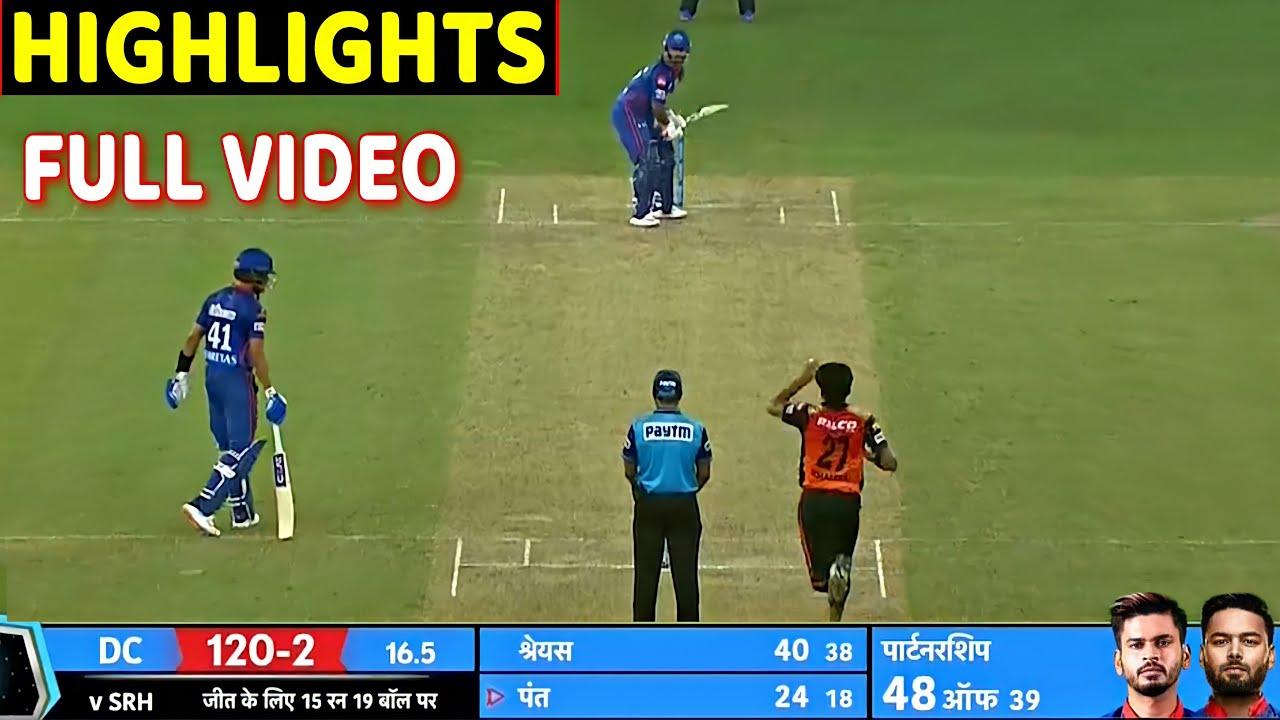 Download Delhi capitals vs Sunrisers Hyderabad Full Match Highlights , DC VS SRH FULL HIGHLIGHT Pant Dhawan