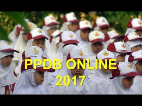 Cara Mendaftar Sekolah Melalui PPDB Online SD, SMP
