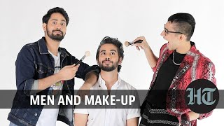 Men and make-up