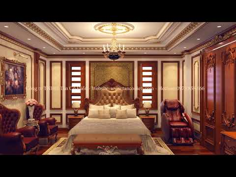 Dự án biệt thự 4 tầng phong cách tân cổ điển tại KĐT Việt Hưng