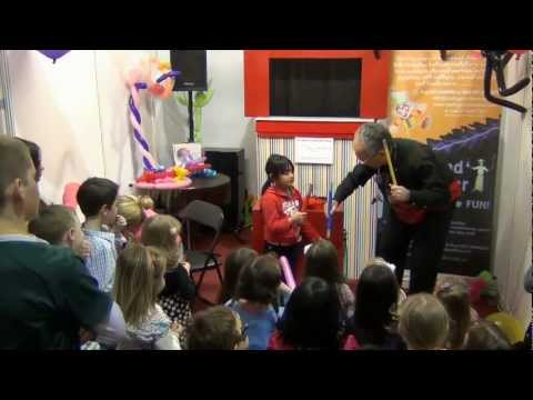 Children's Party Magician, Children's Magic Shows, Magician Party- Really Grand Events (HD)