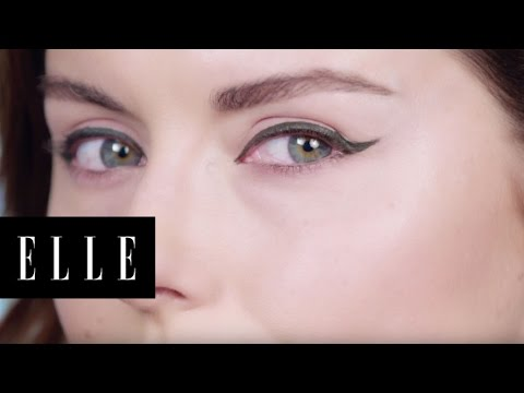 Green Winged Liner How To | ELLE