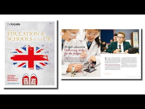 Relocate Global's UK Education & Schools Guide