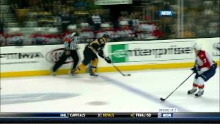 Brad Marchand hat trick; Bruins smoke Florida 8-0 12/23/2011 (1080p)