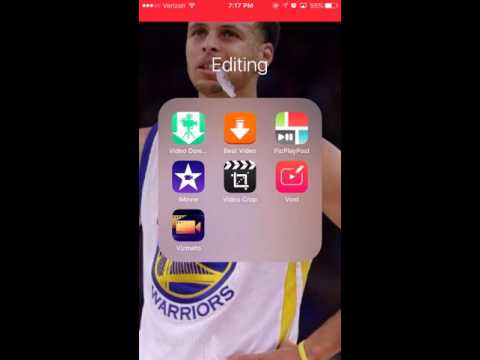 How to make a sport highlight  for iPhone (EASY)