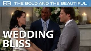 Deacon and Quinn Finally Get Married! / The Bold and the Beautiful