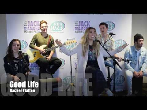 Rachel Platten performs Good Life in the mix Lounge