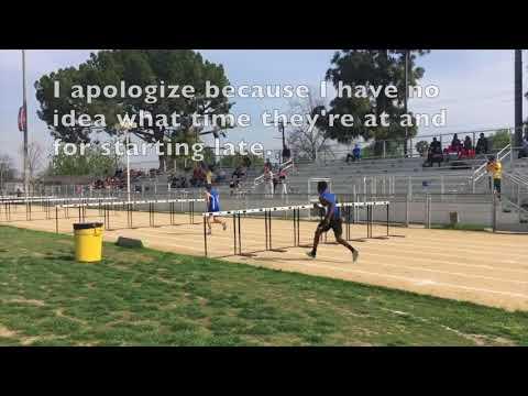 Boys F/S 110m Hurdles-Cleveland vs. El Camino Real Dual Meet 4/5/18