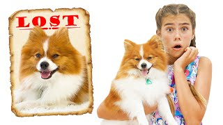 Nastya and Artem The best dog stories for kids