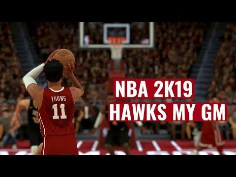 NBA 2K19 Hawks MyGm Ep : 3 - Not A Good Start